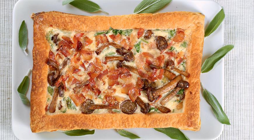Рецепт Пирог с грибами