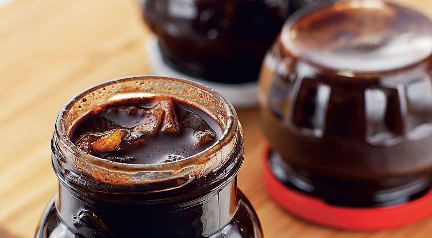 Рецепт Шоколадный конфитюр с ананасами