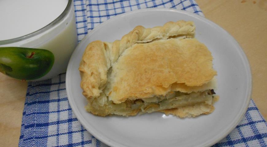 Рецепт Рыбный пирог с картофелем