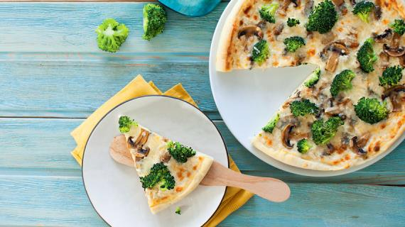 Белая пицца рецепт фото