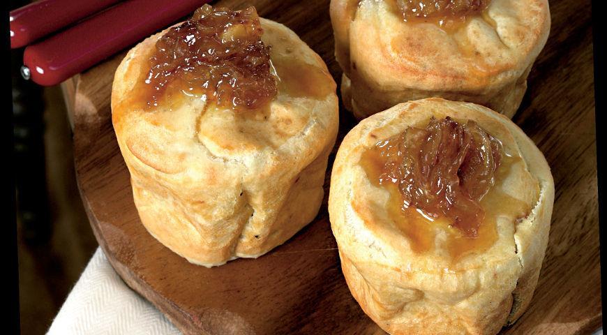 Рецепт Йоркширский пудинг с карамелизированным луком