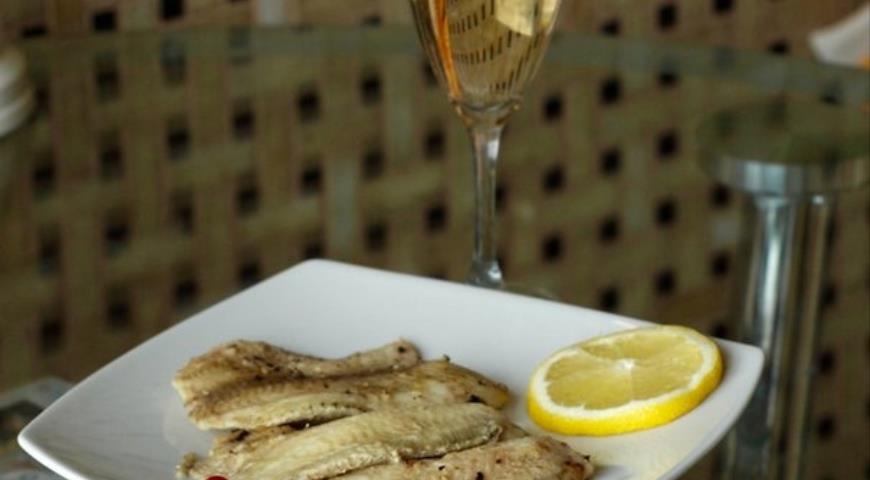 Рецепт Вальс тилапии с горчицей