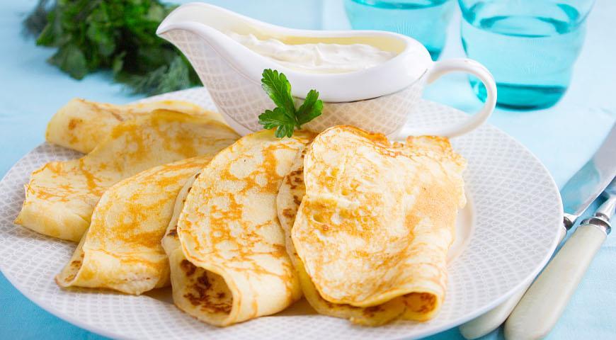 Рецепт Блины из картофельного пюре