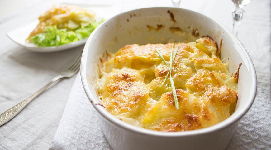 Рецепт Гратен из картофеля
