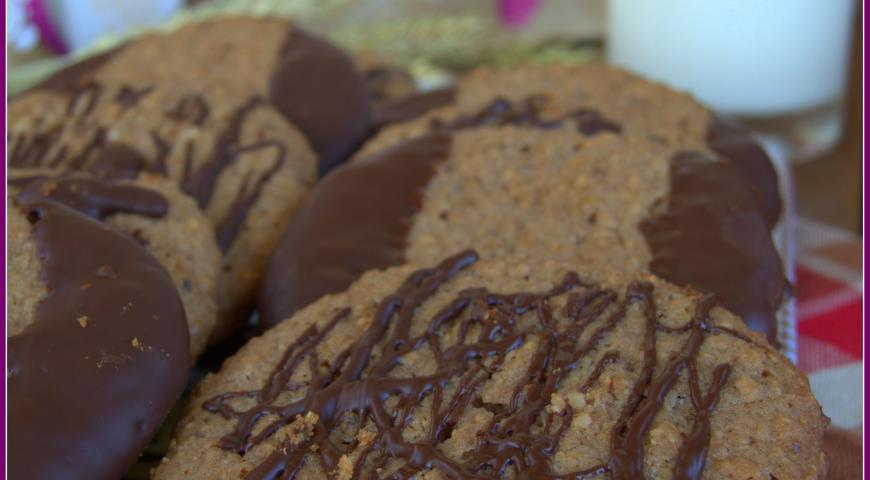 Рецепт Печенье овсяно-ореховое