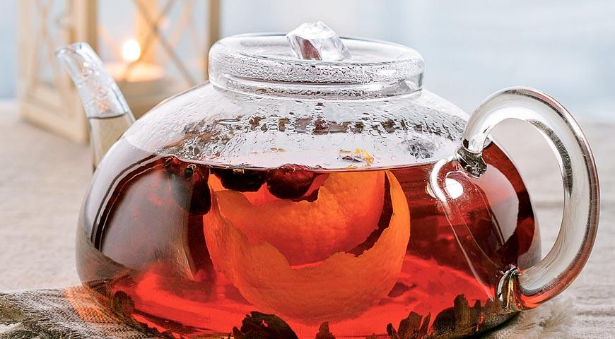 Рецепт Чай с сушеным шиповником