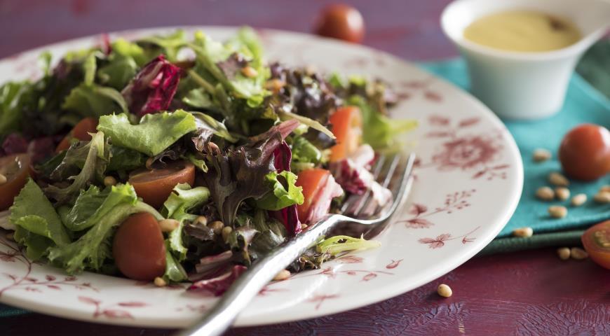 Рецепт Французский салат с горчичной заправкой винегрет