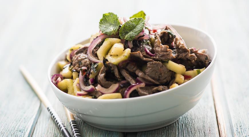 Рецепт Тайский мясной салат