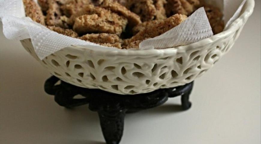 Рецепт Пряное печенье из овсянки