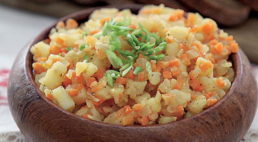 Рецепт Кашка из овощей