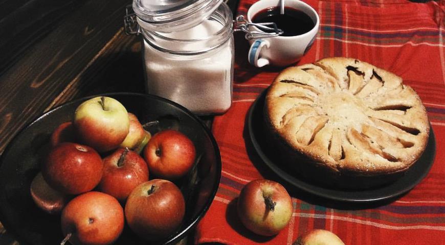 Рецепт Яблочный пирог из детства