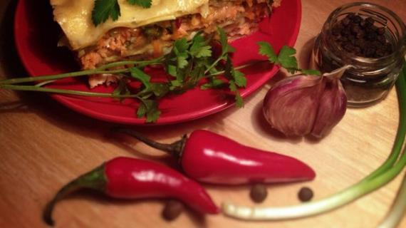 лазанья с семгой рецепт с фото