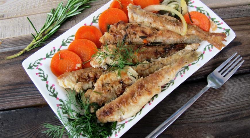 Рецепт Корюшка в белом маринаде