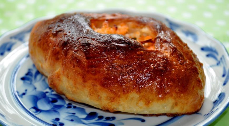 Расстегай с красной рыбой рецепт с пошагово в духовке