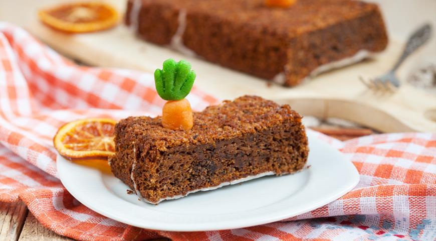 Рецепт Морковный пирог с миндалем и фундуком
