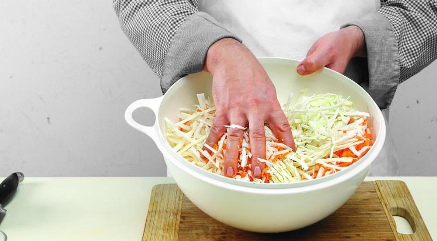 Квашеная капуста, пошаговый рецепт с фото