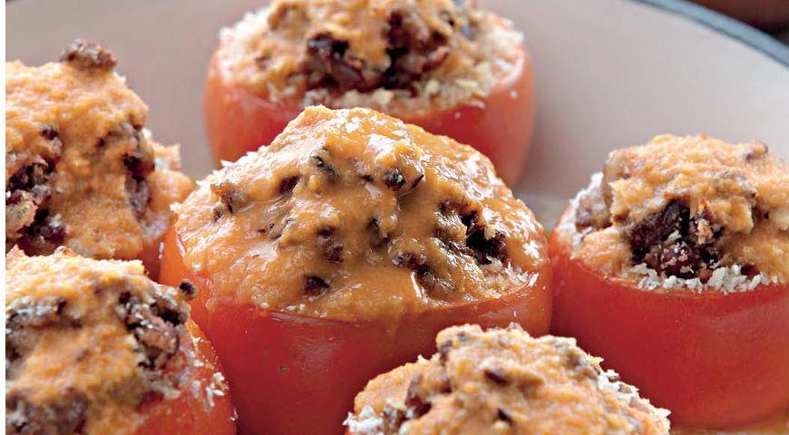 Рецепт Помидоры, фаршированные фасолью