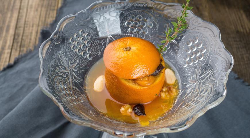 Рецепт Фаршированный апельсин