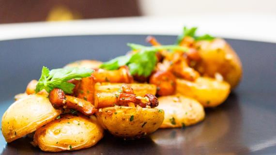 Картошка лисичками рецепты фото