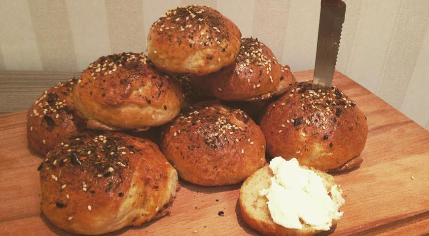 Рецепт Булочки на завтрак от ANDY CHEF