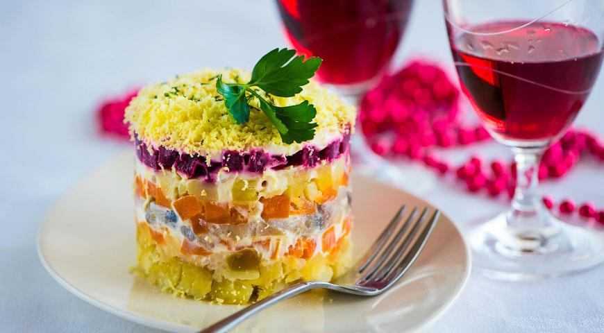 селедка под шубой классический рецепт от шеф повара