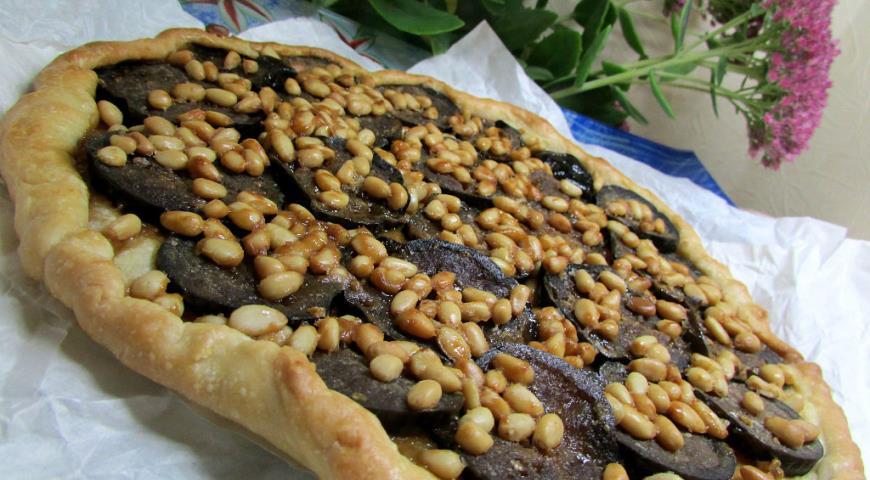 Рецепт Галета с карамельными баклажанами