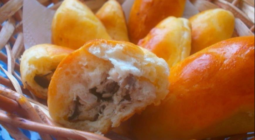 Пирожки с курицей рецепты пошагово