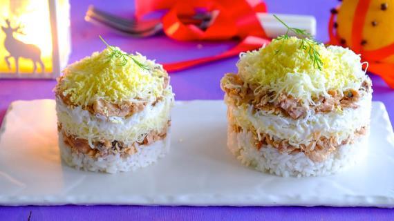 рецепт крабовый салат с рисом пошаговый рецепт с фото