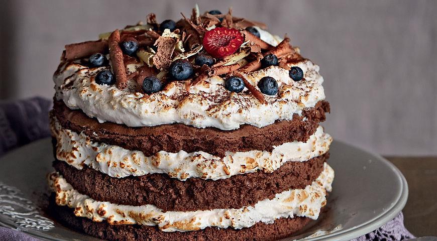 Рецепт Ванильный торт