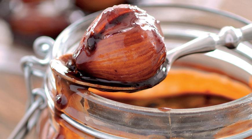 Рецепт Джем из шалота с черносливом и шоколадом