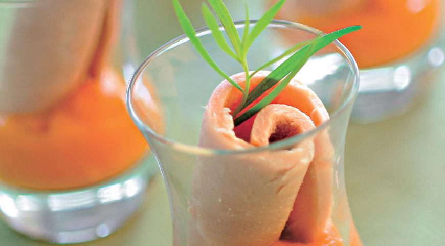 Рецепт Холодная шейка с тыквенным соусом