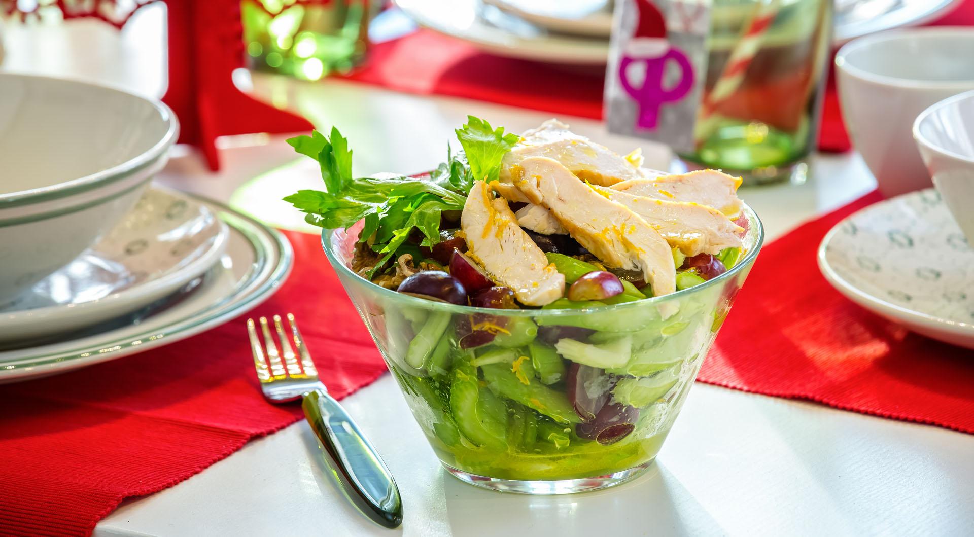 салаты правильного питания с калорийностью