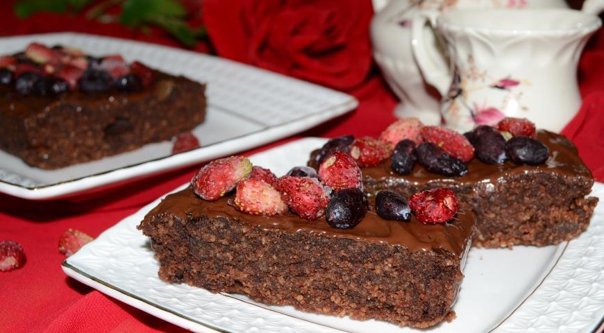Рецепт Манный кекс с кускусом и шоколадной крошкой