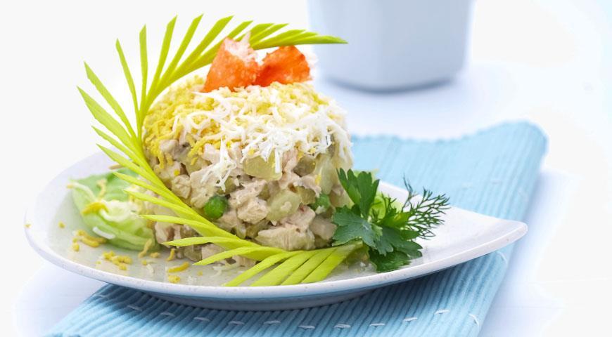 Вкусные рецепты салатов закусок