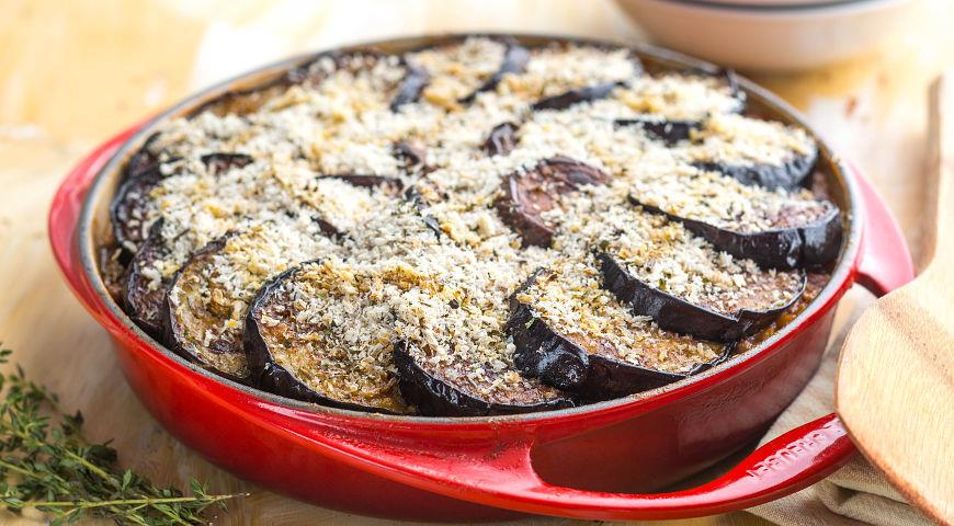 Рецепт Пирог из баклажанов с бараниной