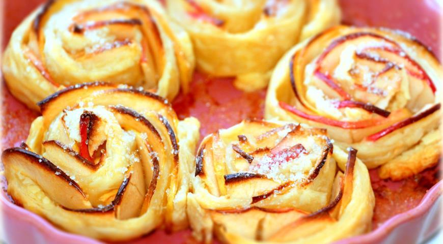 Рецепт Яблочные розочки