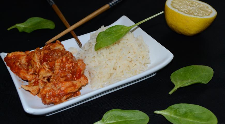 Рецепт Курочка в тайском стиле