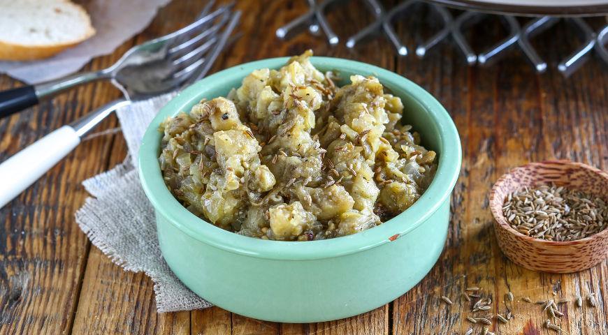 Рецепт Печеные баклажаны по-мароккански