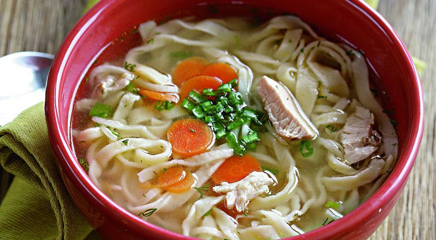 Как сделать лапшу для супа видео 314