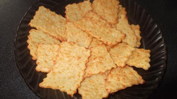 Печенье с твердым сыром