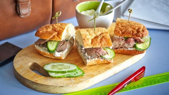 Сэндвич простой рецепт 97