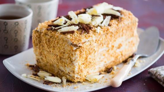 Торт Наполеон простой