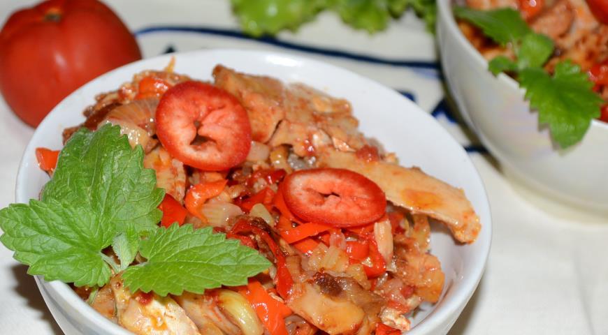 Рецепт Утка карри по-тайски
