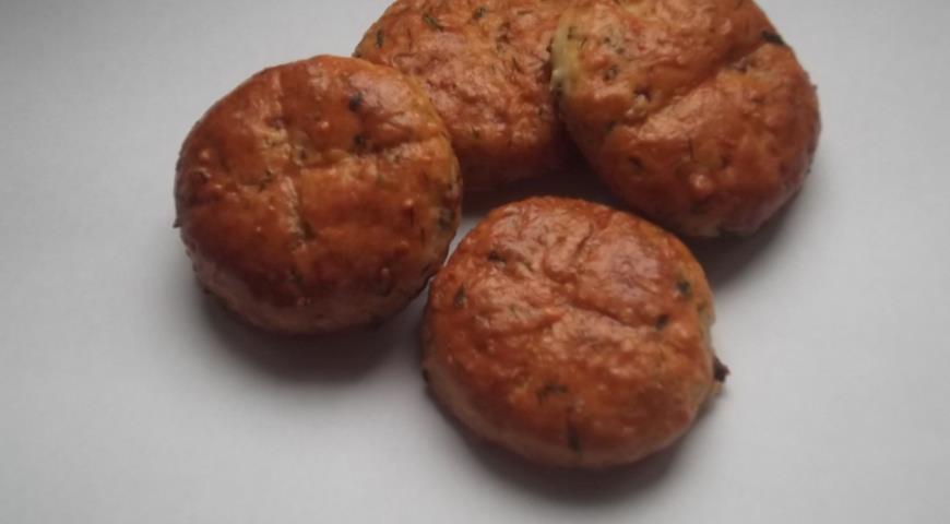 Рецепт Булочки с ветчиной и сыром