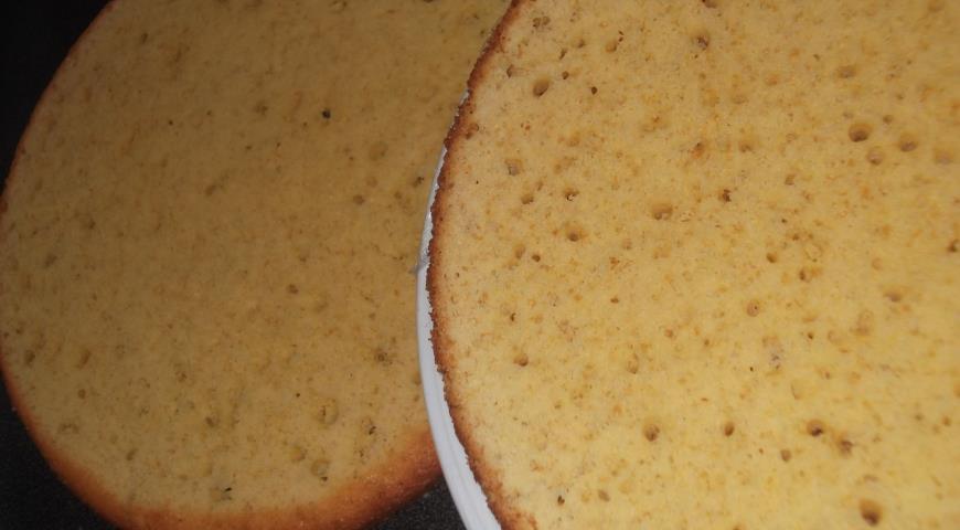 Торт Птичье молоко. Шаг 8