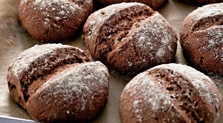 Рецепт Ржаные булочки с тмином