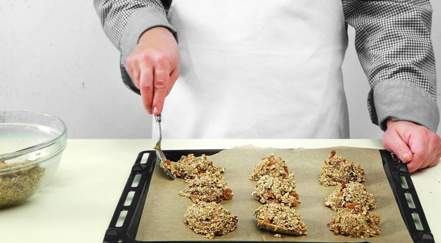 Овсяное печенье сяблочным пюре, пошаговый рецепт с фото