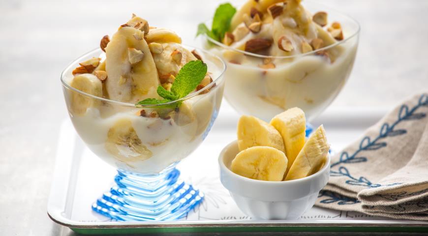 десерт из бананов рецепт с фото