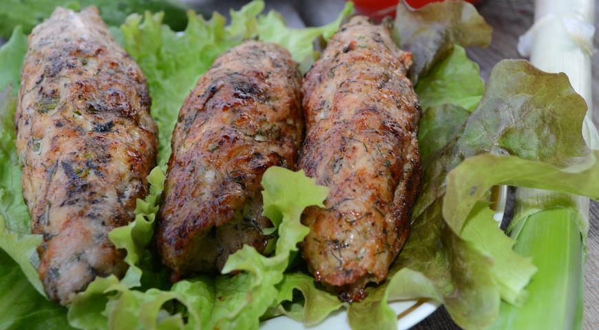 Люля-кебаб из свинины. Шаг 5