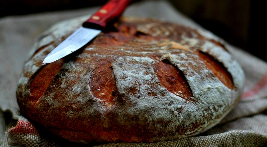 Рецепт Картофельный белый хлеб с жареным луком